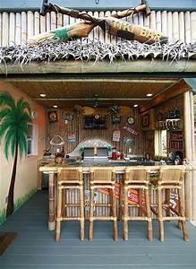 Tiki bar Personal/Home Beach Bars Pinterest