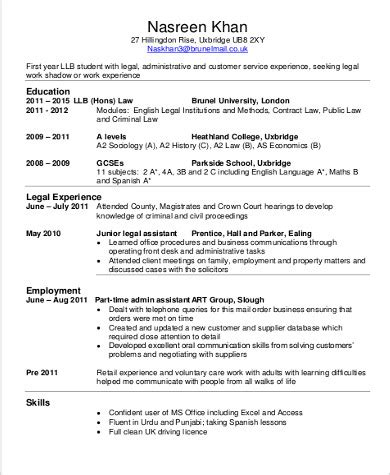sample lawyer resume templates  ms word