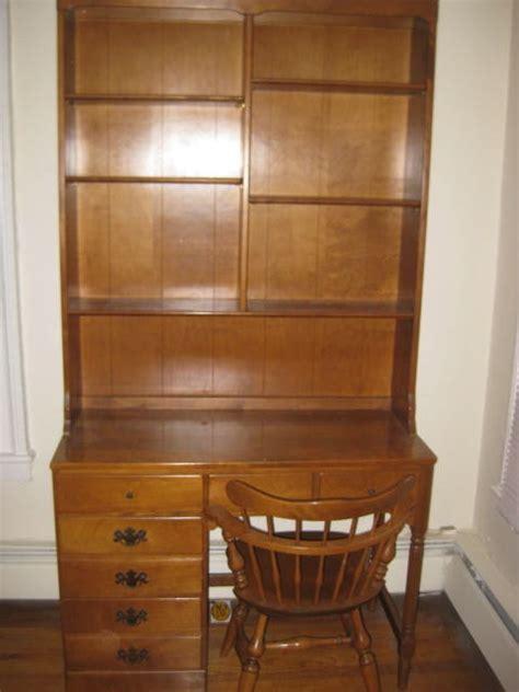 Ethan Allen Desk With Hutch - ethan allen desk hutch swivel chair my antique