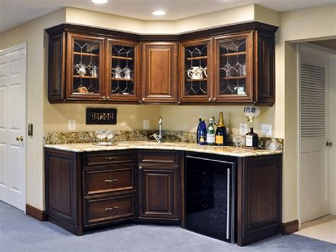 Corner Bar Basement by Foyer Hutch And Corner Basement Bar In