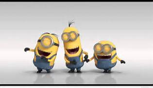 Funny minion laughing quote with a funny picture  Laughing