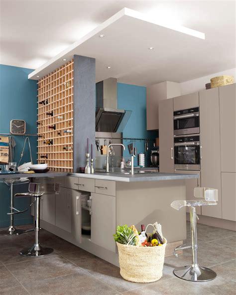 decoration salon avec cuisine ouverte ophrey cuisine