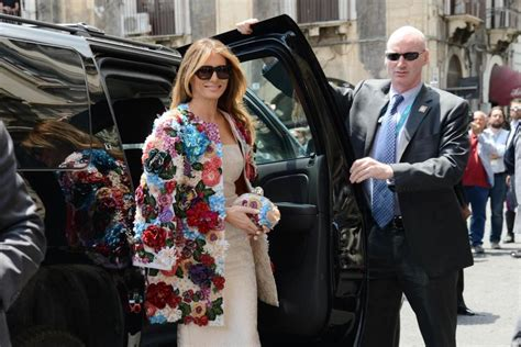 Want Melania Trump's floral Dolce & Gabbana coat It's only $51K