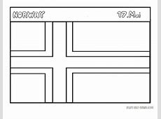 Printable Flag of Norway coloring pages Printable