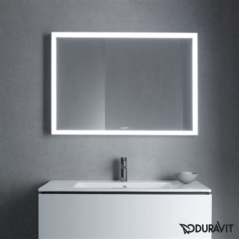 L For Mirror by L Cube Led Bathroom Mirror By Duravit Just Bathroomware