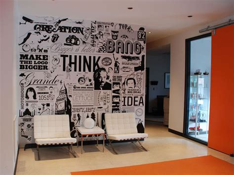 Wall Mural Ideas Office by 25 Best Ideas About Modern Reception Area On