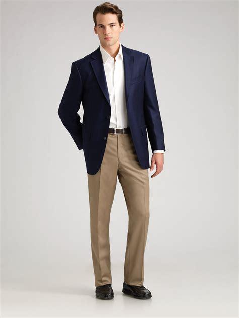 Mens Navy Blue Blazer | Fashion Ql