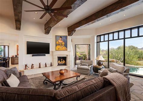 rustic modern desert highlands contemporary southwest remodel interior