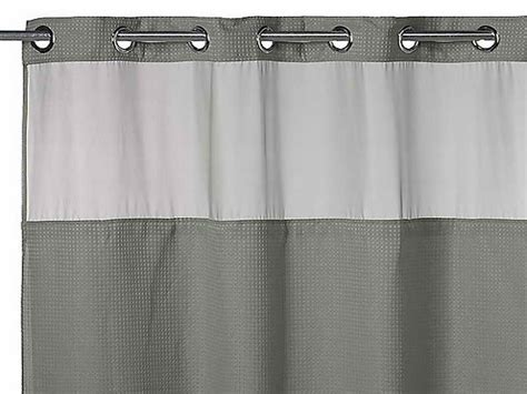Floral Gray Shower Curtain