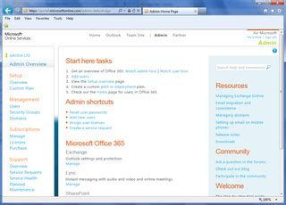 Office 365 Portal Instant Messaging by Cloud And Office 365 Airdesk