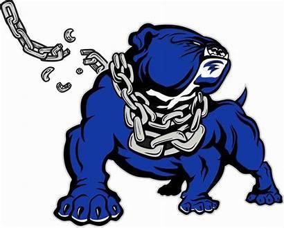 Bulldog Football Bulldogs Clipart Drawing Cool Logos