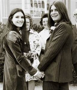 Ozzy Osbourne married first wife Thelma Riley in 1971. He ...