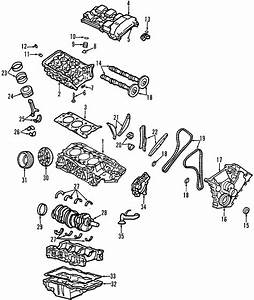 Ford Taurus Engine Valve Cover Gasket  3 0 Liter Dohc
