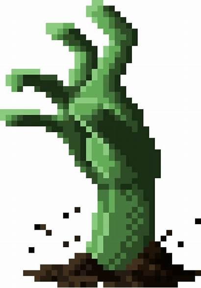 Zombie Pixel Io Modd Grasp Pixels Pngfind
