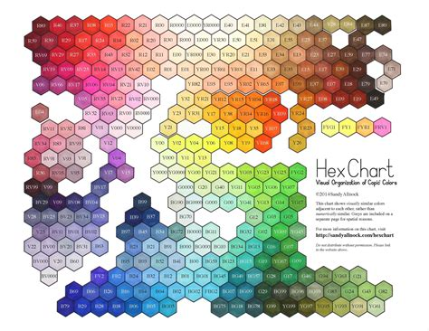 pin  silvia rodriguez  color copic color chart