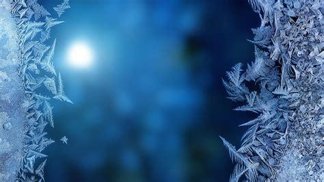 Full Hd Wallpaper Frost Close-up Glass Light, Desktop