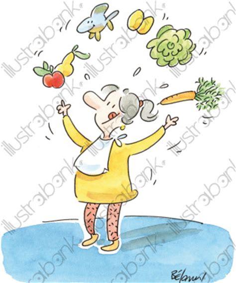 recette de cuisine humoristique la bonne cuisine illustration gastronomie libre de droit
