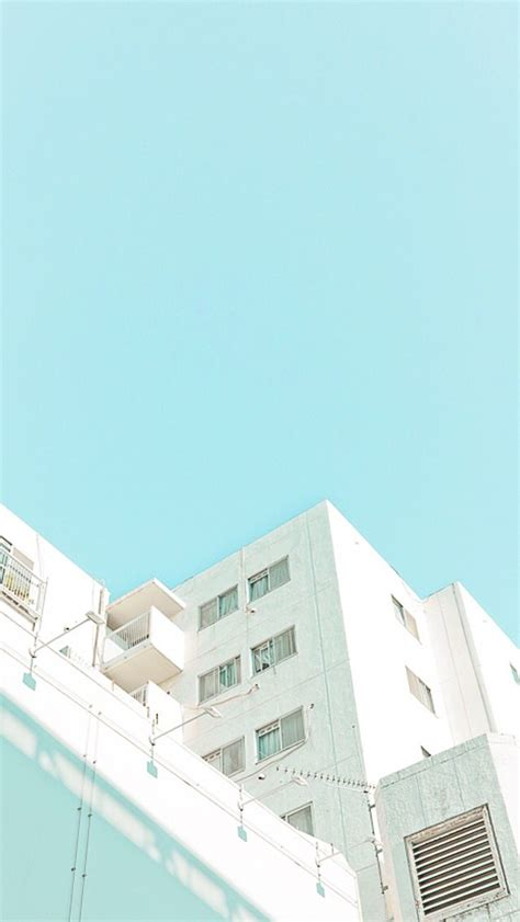 blue pastel aesthetic wallpapers
