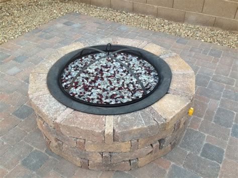 build a propane pit backyard propane pit pavers and outhouse project