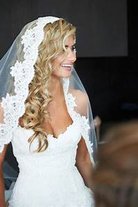 Wedding Veil With Hair Down Sangmaestro