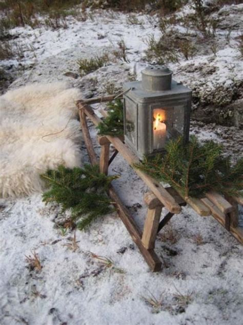 creative  fun sleigh decor ideas  christmas