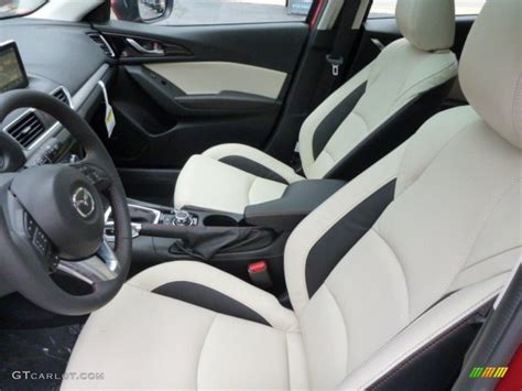 almond leather interior  mazda mazda  grand touring  door photo  gtcarlotcom