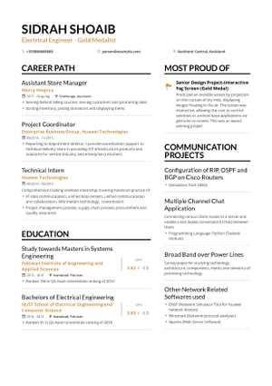 engineering resume  guide