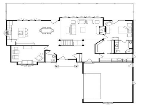 pictures of open floor plans log cabin flooring ideas log home open floor plan open