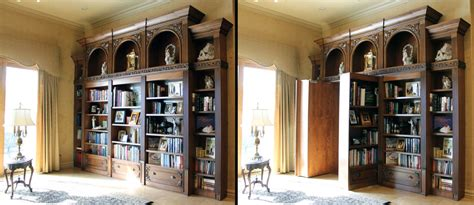 Passage Bookcase by 8 Tricky Passageways To Add Intrigue To Your Home