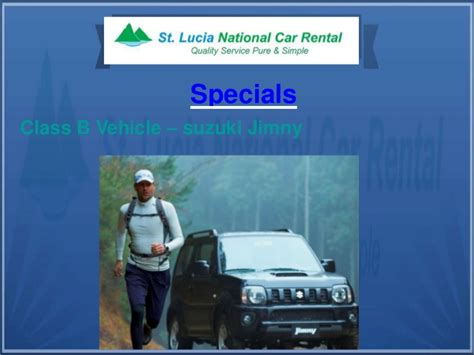 St Rental Car by St Lucia National Car Rental Services