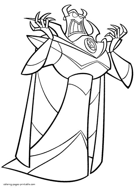 Free Disney Villains Coloring Pages Coloring Home