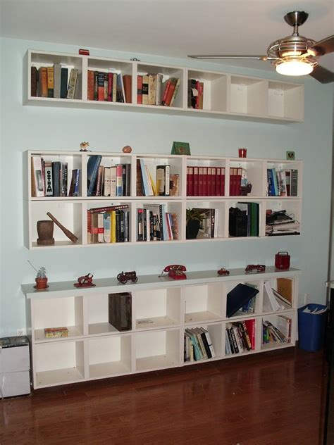 Wall To Wall Bookcase Ideas by 15 Best Of Wall To Wall Bookcases