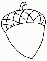 Acorn Coloring Acorns Pages Fall Drawing Printable Clipart Clip Sheets Crafts Preschool Cliparts Colouring Template Sheet Tree Onlycoloringpages Difficult Library sketch template