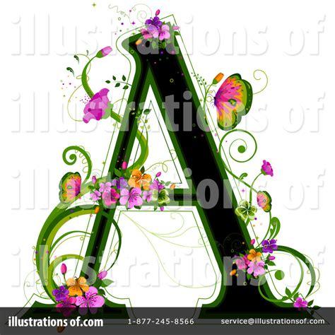 flower letters clip art  clip art