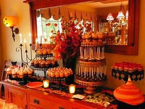 Buffet Halloween : plumeria cake studio fall dessert buffet ~ Dode.kayakingforconservation.com Idées de Décoration
