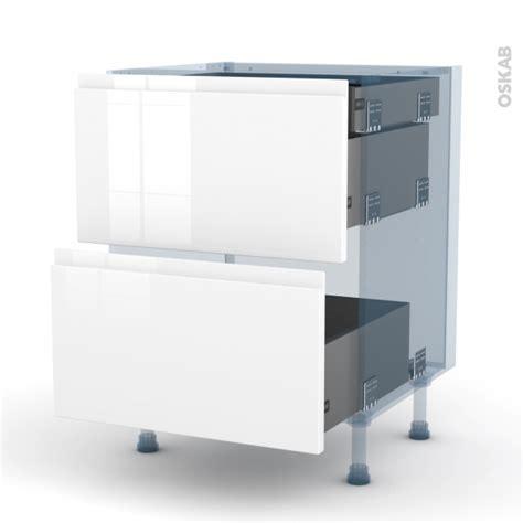 kit tiroir cuisine ipoma blanc kit rénovation 18 meuble casserolier 2 tiroirs