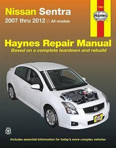 Nissan Sentra Repair Manual  2007