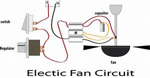 Electric Fan Regulator Circuit