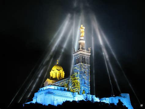 file marseille capitale europ 233 enne de la culture 2013 illuminations notre dame de la garde 2