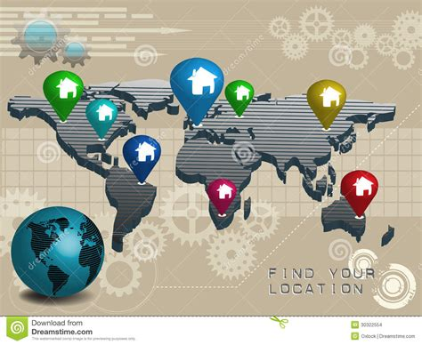 Find Your Location Stock Images  Image 30322554