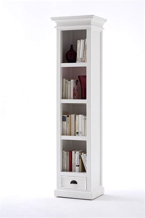 tall narrow white bookcase bookcases ideas element tall narrow five shelf bookcase