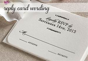 response card wording for wedding invitations With response to a wedding invitation wording