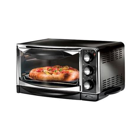 Electric Toaster Oven by Oster 6290 6 Slice Electric Black Chrome Toaster Oven Ebay