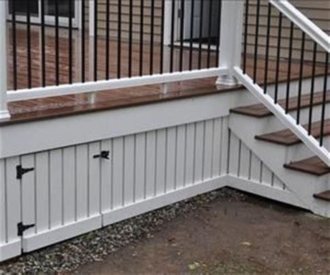diy how to install deck skirting and fascia this is a great tutorial and a pretty way to