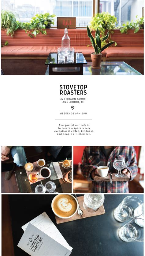 Ann arbor, michigan, where every wolverine's heart and stomach forever belongs. Cafe - Stovetop Coffee Roasters