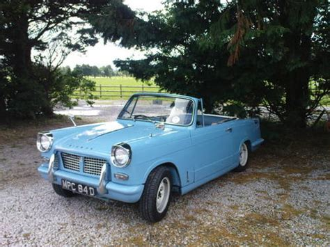 1966 triumph herald convertible SOLD   Car And Classic