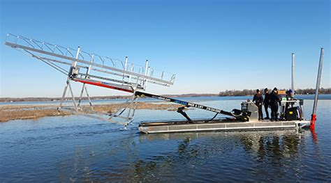 Boat Lift Barges For Sale by Barge Service For Boat Lifts Docks In Detroit Lakes Mn