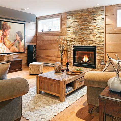 cuisine en sous sol mur d 39 accent texturé au sous sol salon inspirations décoration et rénovation pratico