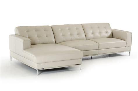 chaises casa divani casa larkspur mid century light grey leather