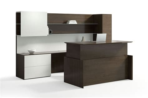 adjustable height executive desk executive height adjustable modern wood desk ambience doré